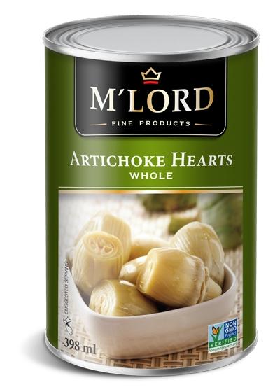 Artichoke hearts - Whole