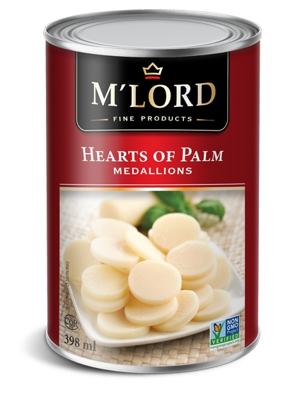 Hearts of palm - Medallions