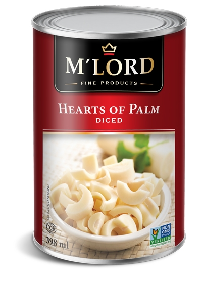 Hearts of palm - Diced